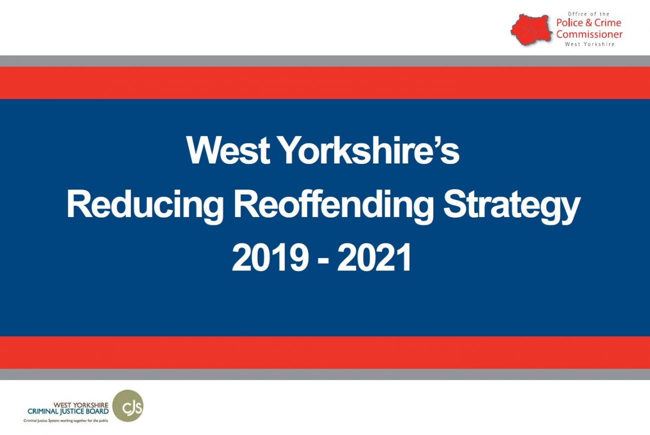 Image of the front cover of the Reducing Reoffending Strategy