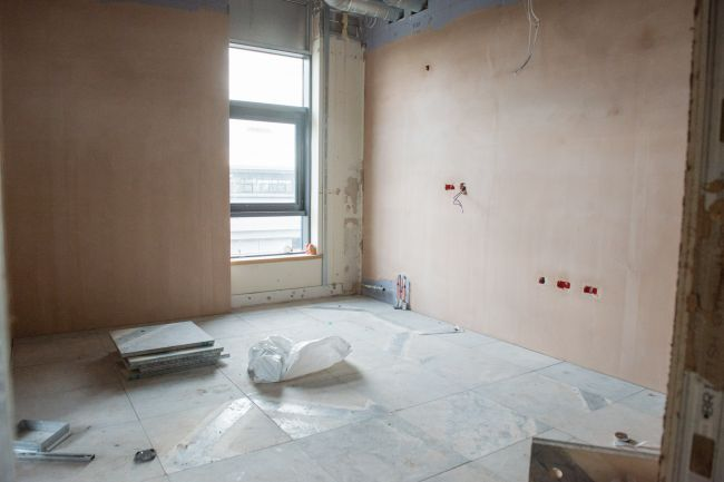 One of the forensic examination rooms