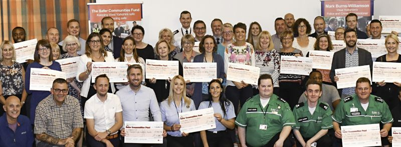 An image of the Safer Communities Fund Awards Event for grant round 16