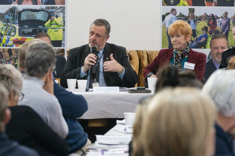 Mark and the national Victims Commissioner for England and Wales, Dame Vera Baird QC
